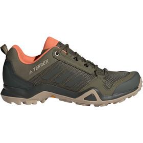 adidas TERREX AX3 Hiking Shoes Lightweight Women, khaki